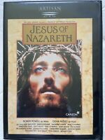 Jesus of Nazareth DVD 2001 2 Unedited Edition Disc Set