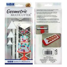 PME géométrique Multicutter de gâteau Glaçage coupeur Triangle 0.75/1/1.25 pouce