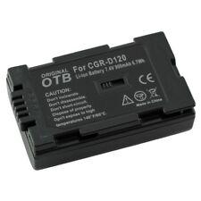 Akku kompatibel zu Panasonic CGR-D120 Li-Ion zB DLC-10 / DLC-1000  8000013
