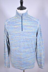 Lululemon Surge Warm 1/2 Zip Pullover Space Dye Alberta Lake Men's Large L