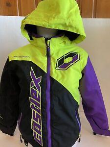 Castle X Snowmobile Jacket Youth Medium Winter Coat Castlex Race wear Racing