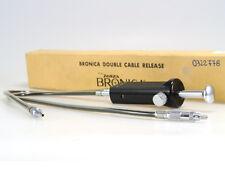 ZENZA BRONICA DOUBLE CABLE RELEASE ( DOPPIO SCATTO FLESSIBILE ) NUOVO