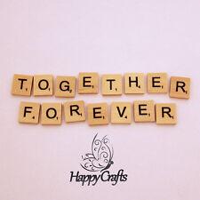 Lettre en bois aimant mot together forever