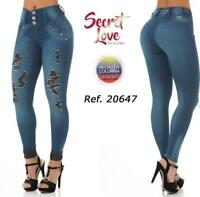 Jeans Colombiano Levanta Cola PUSH UP 20105