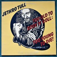 Jethro Tull - Too Old to Rock n Roll Too Young to Die - LP vinyl record