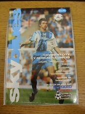 19/09/1998 Coventry City v Newcastle United  . Thanks for viewing this item, buy