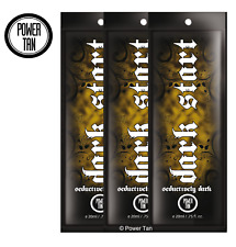 Power Tan Dark Start Tanning Sunbed Lotion Cream Accelerator 20ml Sachet