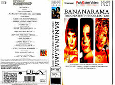 VIDEO VHS - Bananarama – The Greatest Hits Collection (SPANISH EDIT. NEW - NUEVO