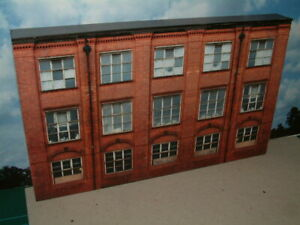 """Low Relief 1930's style  Factory / Office block Self Assembly Card Kit .""""00"""""""