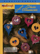 Elegant Photo Ornaments ~ Photo Christmas Tree Ornaments plastic canvas patterns