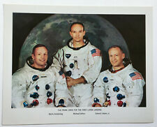 NASA Apollo 11 Lithograph: Apollo 11 Crew (#69-HC-469)