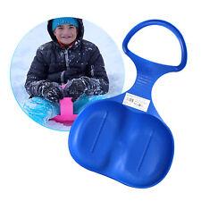 Kinder Schlitten Rutschteller Schneerutscher Rodeln Fahren Porutscher Blau Eaxus