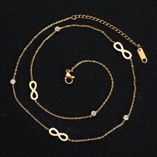 Stainless Steel Necklace Infinity Chain Necklace Fashion Jewelry For Women Party