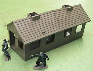 """MPC Toys MPC-1259BR """"Bunkhouse (Brown)"""" 1/32 54mm Plastic Toy Soldier Scenery"""