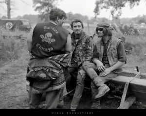 """NEW RELEASE!  Biker OUTLAWS MOTORCYCLE CLUB POSTER """"1966"""" by Flash Productions"""