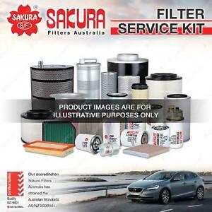 Sakura Oil Air Fuel Filter Service Kit for Mazda 323 Astina Protege BJ SP20 4Cyl