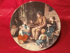 BRADEX SAMMELTELLER Langenthal Großvater erzählt eine Geschichte A. ANKER 1986