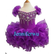 Jenniferwu Infant/toddler/kids/baby/children Girl's Pageant/prom Dress G053-3