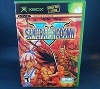 "Samurai Shodown V 5 (Microsoft Xbox 2006) RARE ""Mint Condition"" Tested Game"