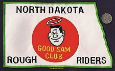 LMH PATCH Badge  GOOD SAM CLUB  Travel Campground ND ROUGHRIDERS Camping RV Sams