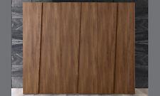 Chambre à coucher penderie portes battantes bois d'orme Structure SIX STYLE