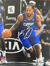 Kawhi Leonard Autographed Signed 8x10 Photo Los Angeles Clippers COA