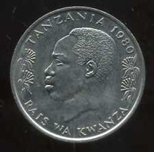 TANZANIE  1 shilingi 1980