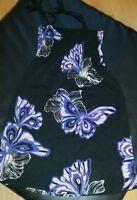 Kleid  Mädchen Gr. 158/164 schwarz Bunt von H&M