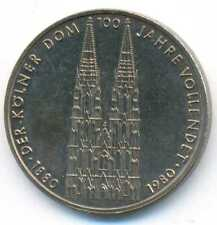 Germany Cologne Cathedral 5 Mark 1980 UNC
