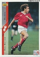 N°104 MARC HOTTIGER SWITZERLAND TRADING CARDS UPPER DECK WORLD CUP USA 1994