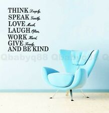 Love much Wall Quotes decals Removable stickers decor Vinyl DIY home art mural