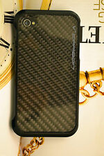 REAL CARBON FIBER BACK PLATE FOR IPHONE 4 & 4s US SELLER