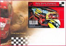 Toyota Rally Team Chief World Champion Tommi Makinen Finland FDC 2000