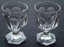 2 bicchieri da cocktail, vetro liscio