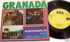 "JOSE LUIS HIDALGO EN LA TROMPETA DE 7"" 45 EP picture sleeve jacket"