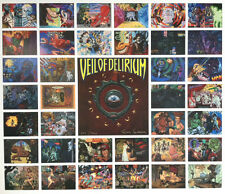 TODD SCHORR VEIL OF DELIRIUM UNCUT SIGNED NUMBERED LIMITED EDITION SHEET