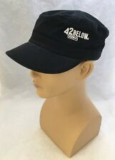 42 BELOW VODKA : black 100% cotton adjustable cadet style cap / hat  New Zealand