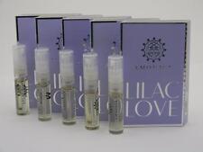5 x Amouage LILAC LOVE WOMAN EDP Eau de Parfum 2ml Vial Spray New With Card