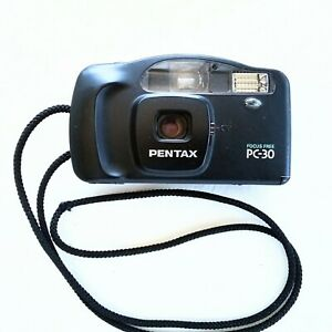 Pentax PC-30 35mm Point & Shoot Film Camera Tested