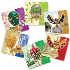 Faberge Beverage Coasters Cardboard Hot Cold Drinks Kitchen Dining Table SALE