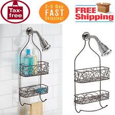 Bathroom Shower Caddy Organizer for Shampoo Soap Conditioner Bath Holder Bronze