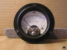 Panel Meter Dc 5 mA A&M Inst. Model 265-646