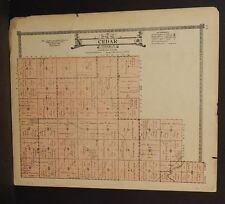 Nebraska Boone County Map Cedar Township  c.1918  J14#50