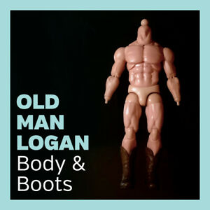 Mezco ONE:12 Collective - Old Man Logan Body & Boots Accessory Part Only