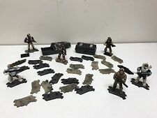 LEGO / Mega Bloks LOT OF 40 STANDS / BASE PLATES STAND FOR CALL OF DUTY / HALO