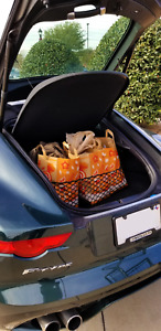 Envelope Style Trunk Mesh Cargo Net for JAGUAR F-Type (COUPE ONLY) 2015-2020 NEW