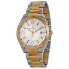 Maurice Lacroix Miros Date Silver Dial Two Tone Steel Mens Watch MI1018-PVP13130