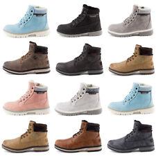 Neu Herren Damen Worker Boots Outdoor Schnür Stiefeletten Gefüttert 1954 Schuhe