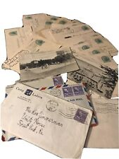 New ListingLarge Lot of Kids pre stamped mailed Camp Postcards 1940's plus letters
