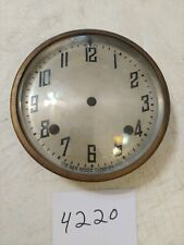 Antique New Haven Tambour Mantle Clock Dial And Bezel With Glass From 102